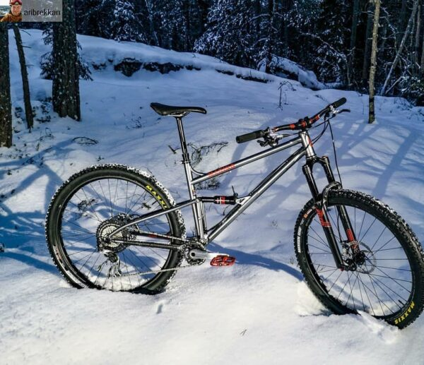 MarinoBike Custom Full Suspension MTB Frame