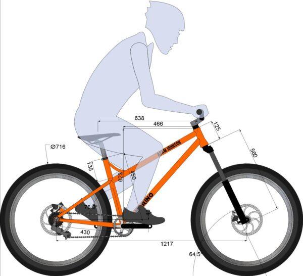 Frame Design - Marino Bike