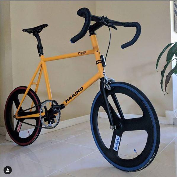 Marino Custom Frame Yellow Minivelo
