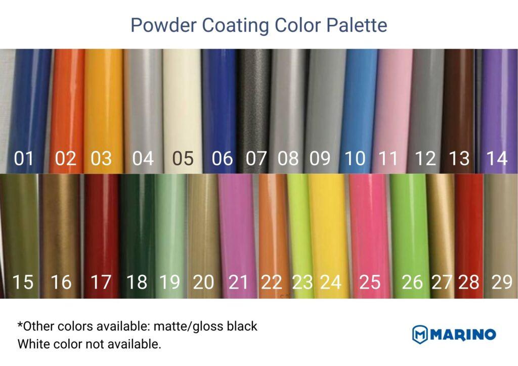 Color Palette MarinoBike